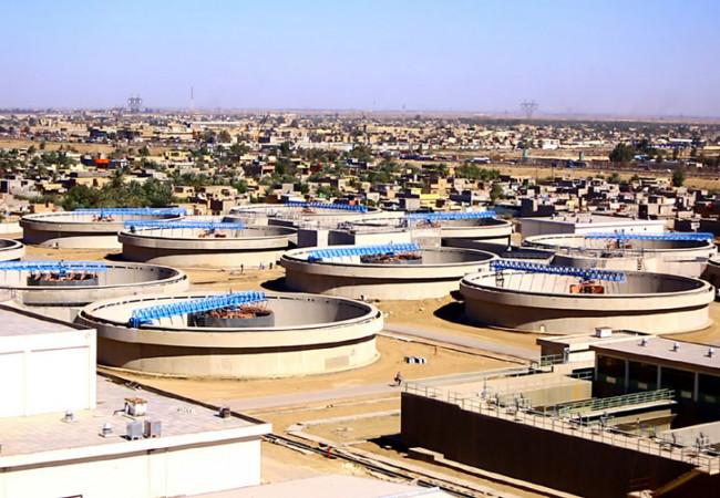 امانة بغداد تحذر من توقف جزء من مشاريع الماء الصافي وتاثريها على مناطق الكرخ