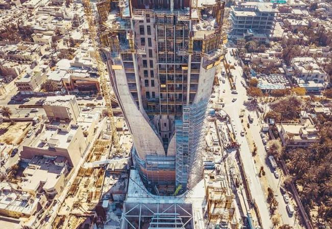 رسمياً.. برج زها حديد يصبح أعلى مبنى في بغداد