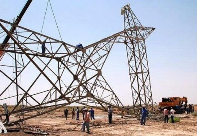 شرطة الطاقة تعلن وضع خطة لتأمين أبراج نقل الطاقة