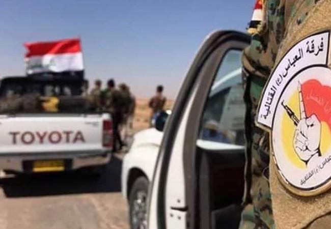 """قوات فرقة العباس تتصدى لتعرض """"داعشي"""" في ناحية البشير"""