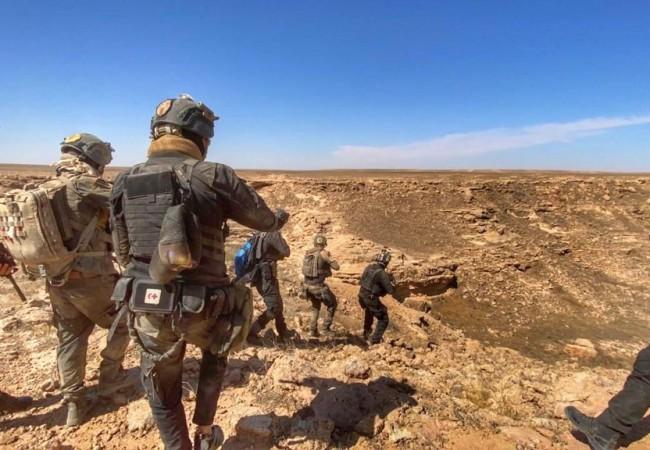 مكافحة الارهاب يحكم الطوق على ما تبقى من داعش في جبال مخمور