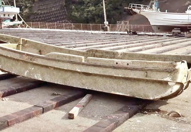ظهور قارب في اليابان بعد 10 سنوات من اختفائه بتسونامي