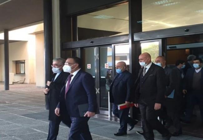 وزير الطاقة الايراني يبحث مع الكاظمي ومحافظ البنك المركزي التعاون الثنائي والديون